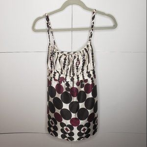 Tempted Strappy Tank Braided Tie Back Medium